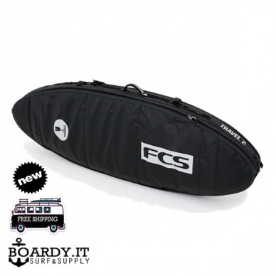 FCS TRAVEL 2 BOARDBAG FUNBOARD